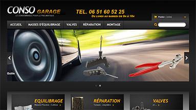 consogarage Réalisation agence web Lyon