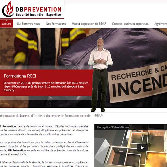 db prévention réalisation creactiweb agence internet lyon