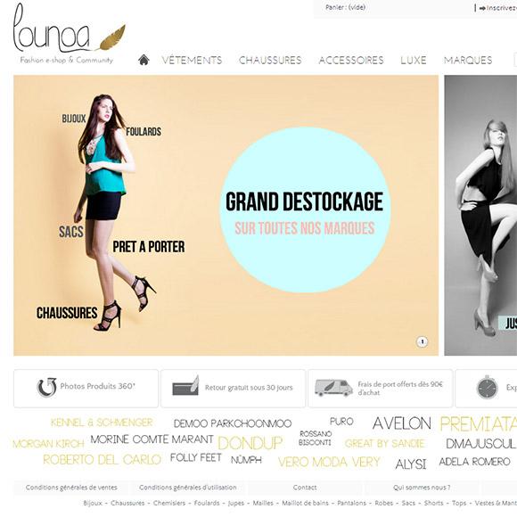 Lounoa Réalisation Creactiweb, agence web à Lyon