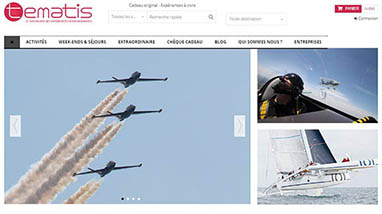 Tematis Ecommerce réalisation Creactiweb agence Internet lyon