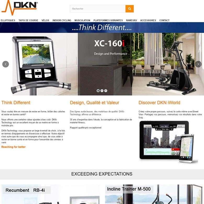 Site E commerce réalisation creactiweb