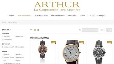 arthur montre la compagnie des montres Lyon